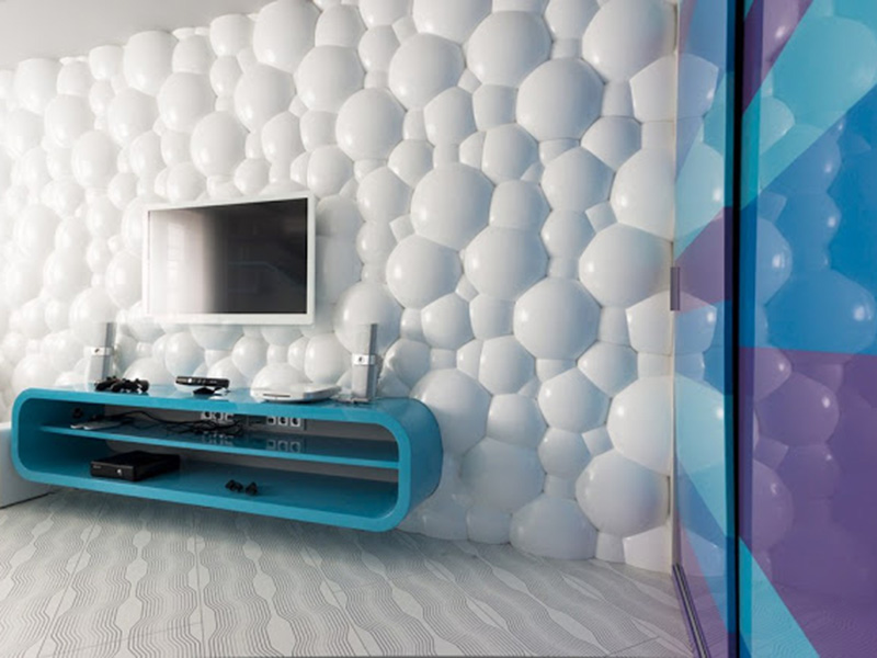 Living Room Bubbly 3d Wall Panels Made Of PVC