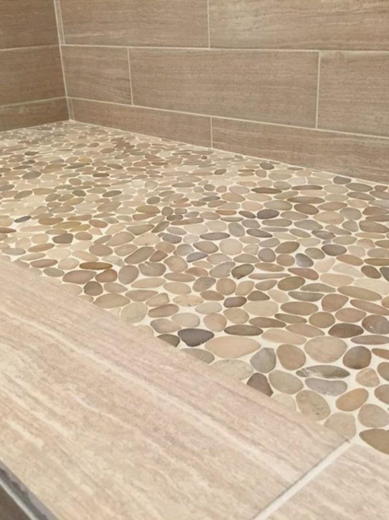 Golden Non Slip Bath Room Floor Tiles