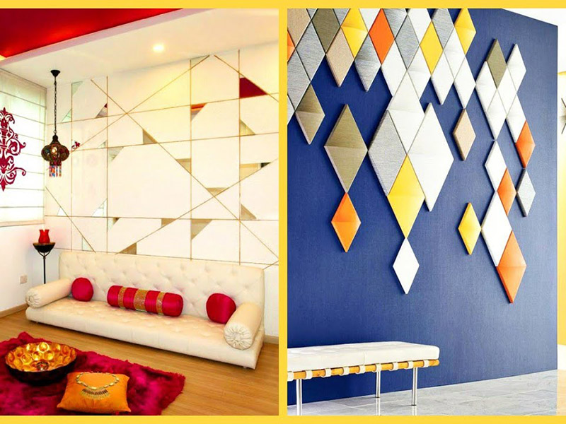 Modern Colored Pvc Wall Design