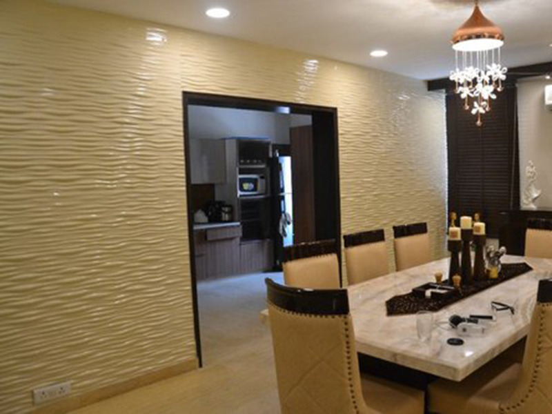 Wpc Wall Penal Design In Dining Room