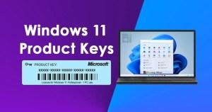 Windows 11 Product Keys