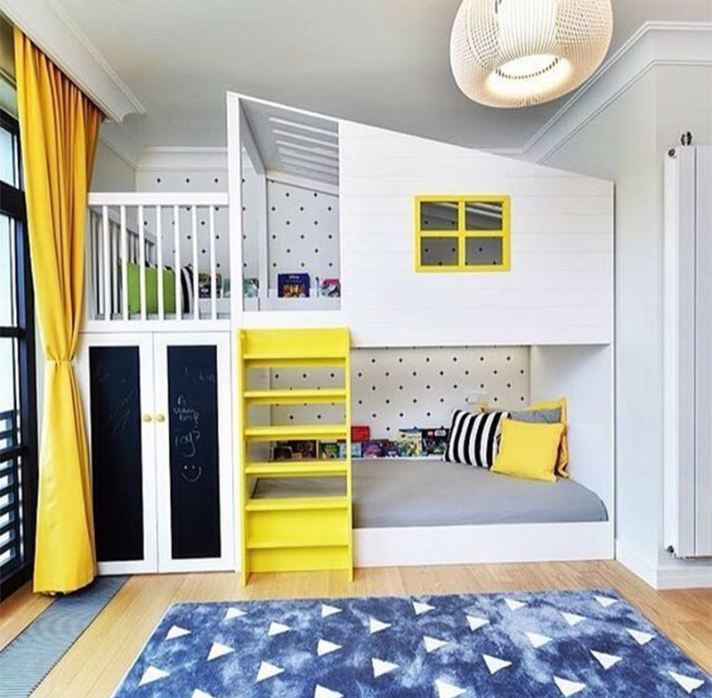 Bunk Bed For Childrens Room