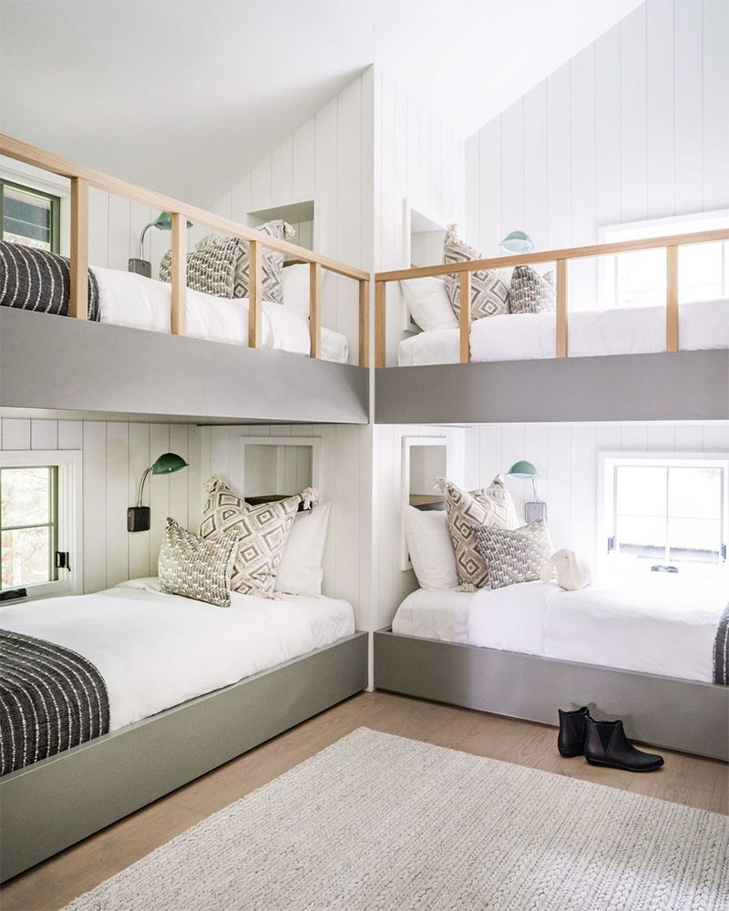 Chic Bunk Bed Ideas