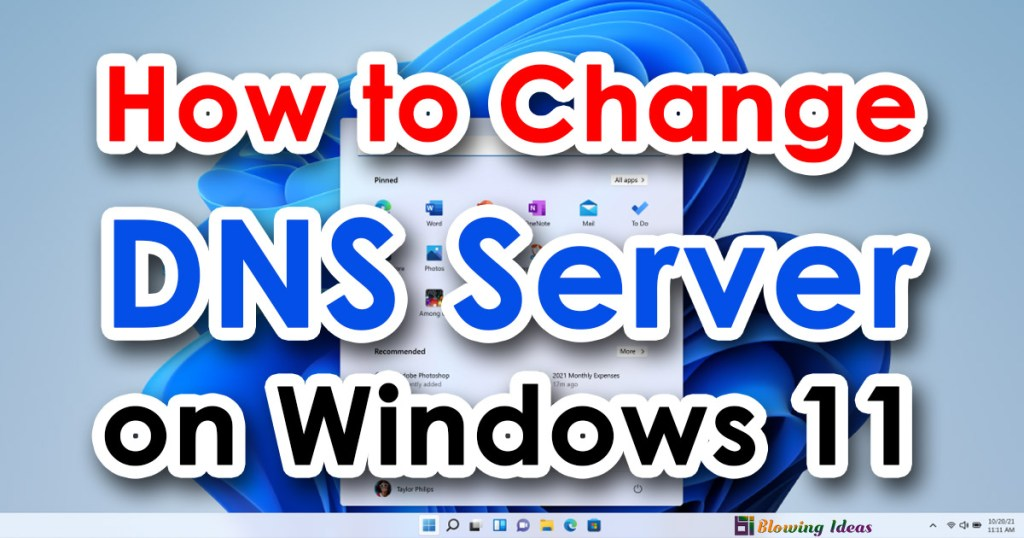 How to Change DNS Server on Windows 11