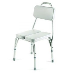 Invacare Shower Chair Coleman Deck With Table Uk Vinyl Padded On Sale Unbeatable