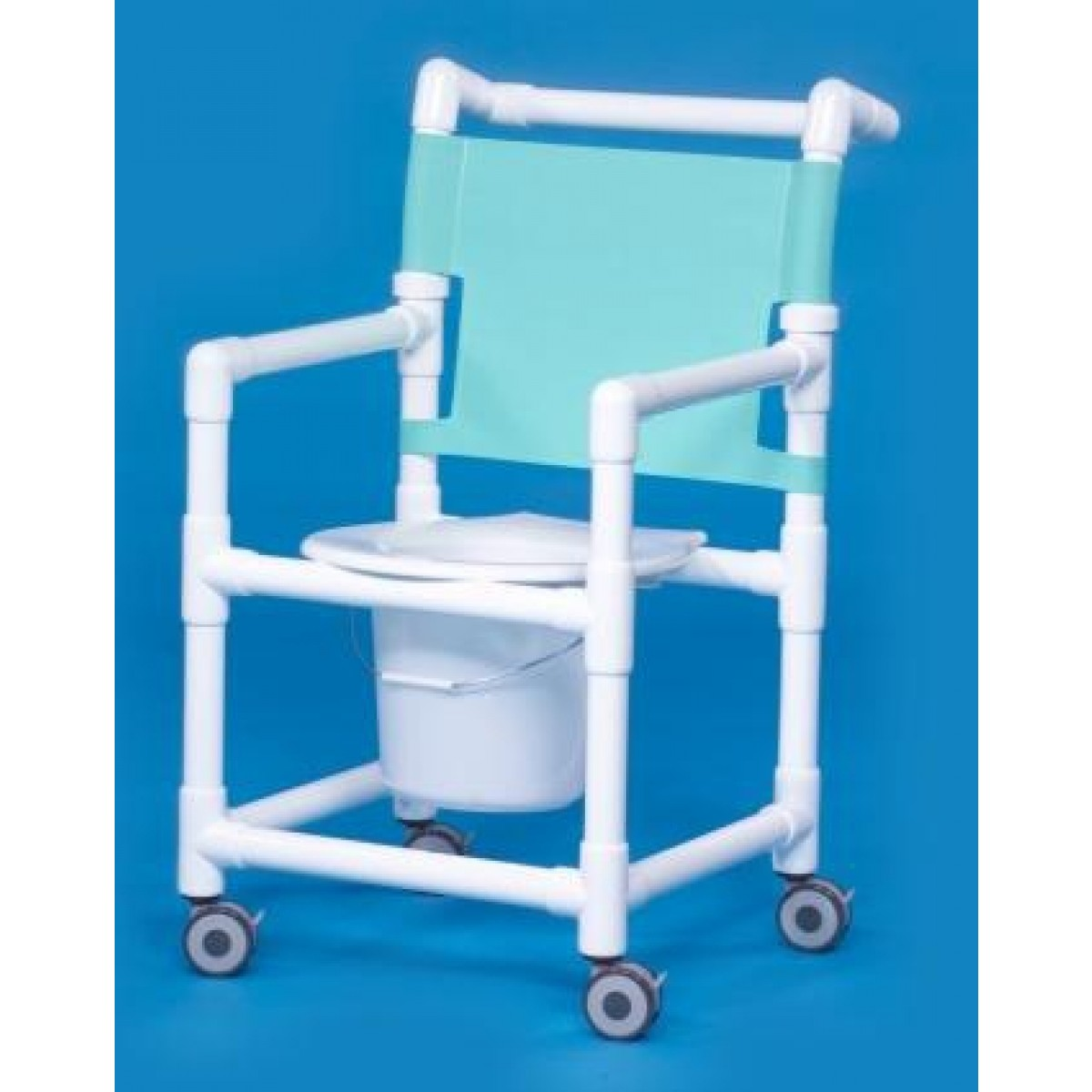 pvc commode chair sand bag shower sc9111p