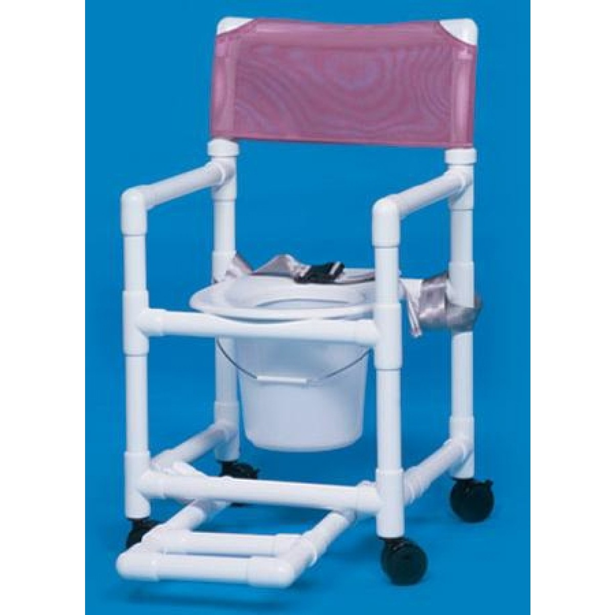 pvc commode chair svan signet complete high standard line shower with footrest