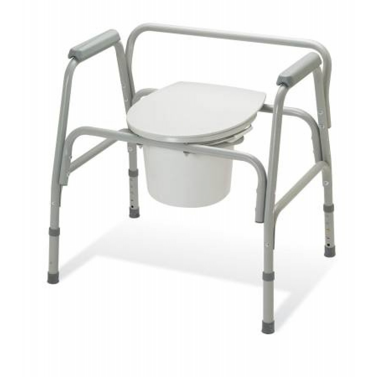 heavy duty commode chair ikea dining covers henriksdal ez care 3 in 1 400 lbs 18 to 22 inch