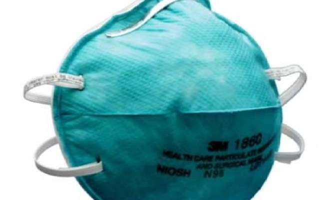 3m 1860 N95 Health Care Particulate Respirator And