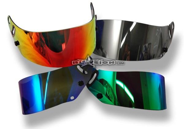 Blowsion. Arai Gp-5 Shield - Mirrorized