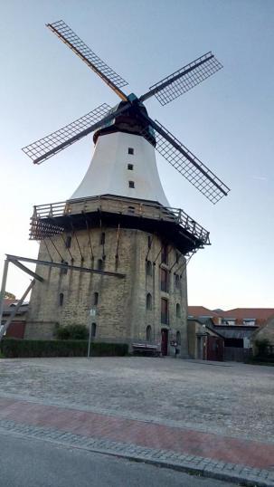 Die alte Mühle - eines der Wahrzeichen von Kappeln