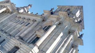 Detailansicht vom Reichstag