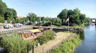 Stellplatz am Schlosshafen