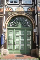 Prächtiges Eingangsportal