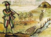 Historisches Gemälde vom Rattenfänger