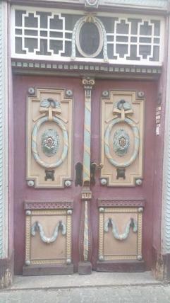 Haustür in der Altstadt