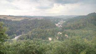 Blick in Richtung Unteres Brohltal