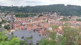 Blick von der Burg auf Wertheim