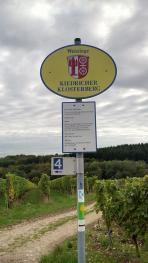 Weinberg des Klosters