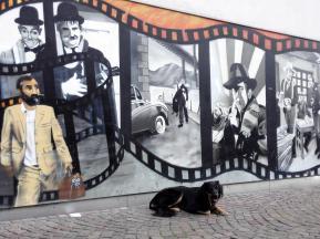 Graffiti am Cinemaxx Freiburg