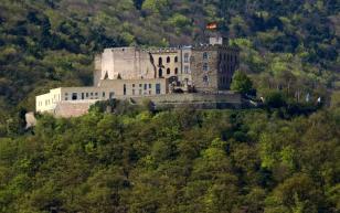 Das Hambacher Schloss, auch Maxburg genannt