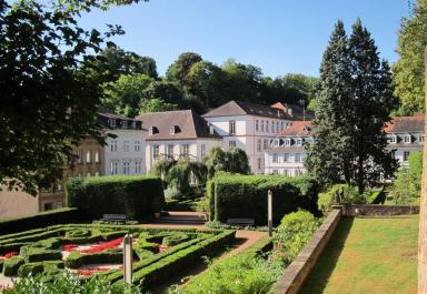 Blick vom Schlossgarten zum alten Schloss