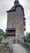 """Der Bergfried, ursprünglich Wohnort der """"Herren von Winkel"""""""