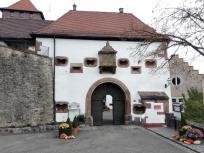Eingang zur Burgschänke auf Schloss Eberstein