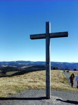 Gipfelkreuz auf dem Belchen
