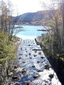 Zufluss vom Bergkanal