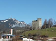 Die ehemalige NS-Ordensburg von Sonthofen