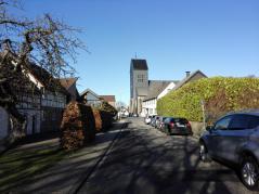 Ausgangspunkt: DIe Kirche von Vossenack