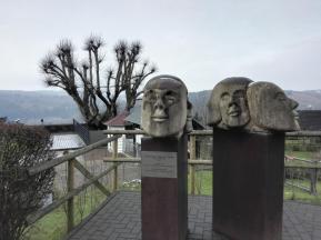 Skulpturen am Burggarten