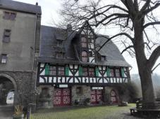 Gaststätte innerhalb der Burg