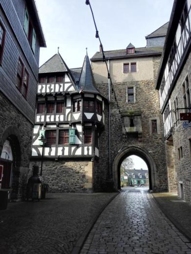 Zugang zum Burgberg