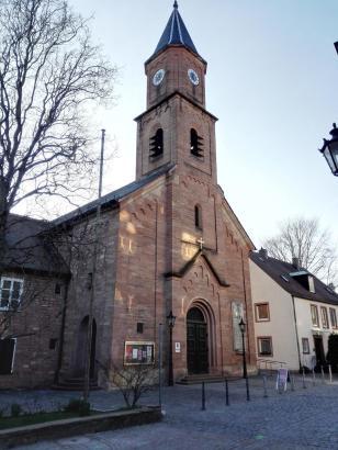 Die evangelische Christuskirche