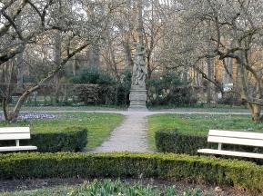 Park in der Innenstadt