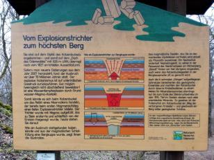 Früher Vulkanschlot, heute Berg: Der Katzenbuckel