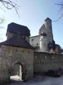 Eingangsportal zur Burg