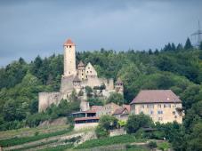 Burg Hornberg von Süden aus gesehen (Foto: Oliver König   http://commons.wikimedia.org   Lizenz: CC BY-SA 3.0 DE)