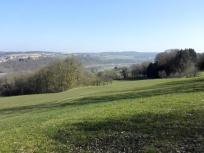 Blick über die Neckarhöhen