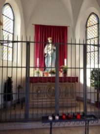 Kapelle St. Maria am Beginn des Kreuzwegs hinauf zur Apollinariskirche