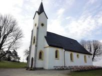 Aldegundiskirche auf dem Plateau des Staffelbergs