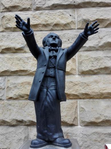 Wagner-Figuren überall