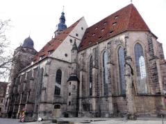 Die Morizkirche von der Seite