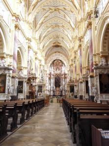 Mittelschiff der Klosterkirche