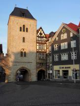Das Nikolaitor, eines der ältesten noch erhaltenen Stadttore Thüringens
