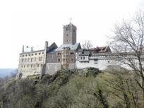 Die Wartburg, UNESCO Weltkulturerbe am Nordrand des Thüringer Waldes