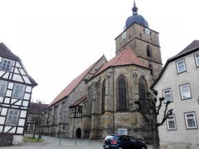 Die Kirche am Marktplatz