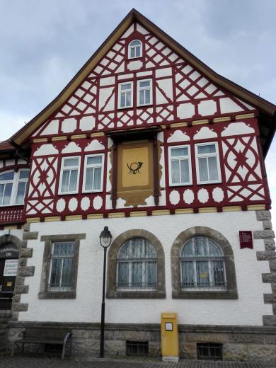 Das alte Postgebäude
